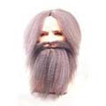 Old Chinaman Wig, Beard and Mustache Set