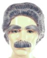 Deluxe Mark Twain Wig, Eyebrows & Moustache Set
