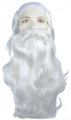 Father Time Wig, Beard and Mustache Set