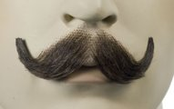 Human Hair Mustache Style M10