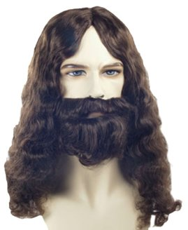 Bargain Biblical Wig and Beard