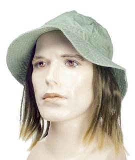 Tramp Hat Wig