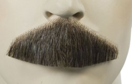 Triangle Human Hair Mustache