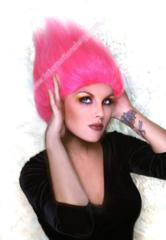 Pink Treasure Troll Wig - For All Ages