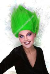 Green Troll Wig- Thing 1 & Thing 2 Wig