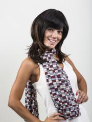 Human Hair Clip On Bangs, Bobbed Style Bangs