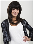 Human Hair Clip On Bangs, Bobbed Style Bangs Bob Bangs II