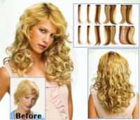 10 Piece Wavy Clip In Hair Extensions