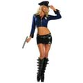 8 Piece Officer Naughty Costume
