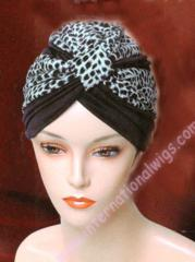 Two Tone Velour Turban