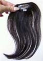 Human Hair 8 Inch Clip On- 5 pcs