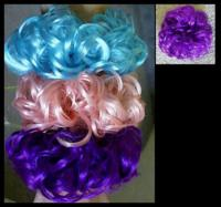 Scrunchie Rubberband Wiglet