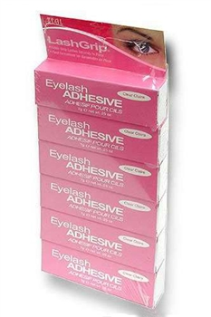 Ardell Eyelash Glue Clear - 6 pack.