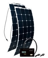 Go Power -200 Watt/11.24 AMP Solar Kit