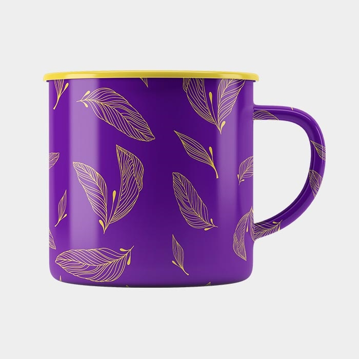 STEEP Raining Feather Mug