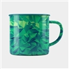 STEEP Polygonal Green Mug