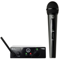 AKG WMS 40 Mini Vocal Wireless Microphone Set A, AKGWMS40V45A, WMS40V45A