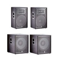 JBL JRX215 15' Two-Way Speaker (Pair) with JBL JRX218S Subwoofers (Pair) Complete PA System, JBLJRX215-BUNDLE-3, JRX215