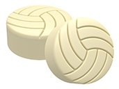 Volleyball Cookie Mold