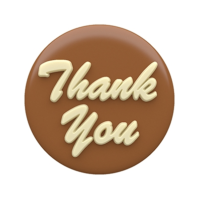 Spinningleaf Thank You Sandwich Cookie Molds Chocolate