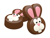 Easter Bunny Cookie Mold