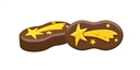 Shooting Star Sandwich Cookie Mold