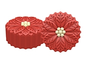 Poinsettia Mini Cookie Mold