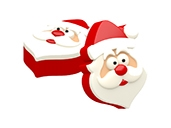 Mini Santa Cookie Mold