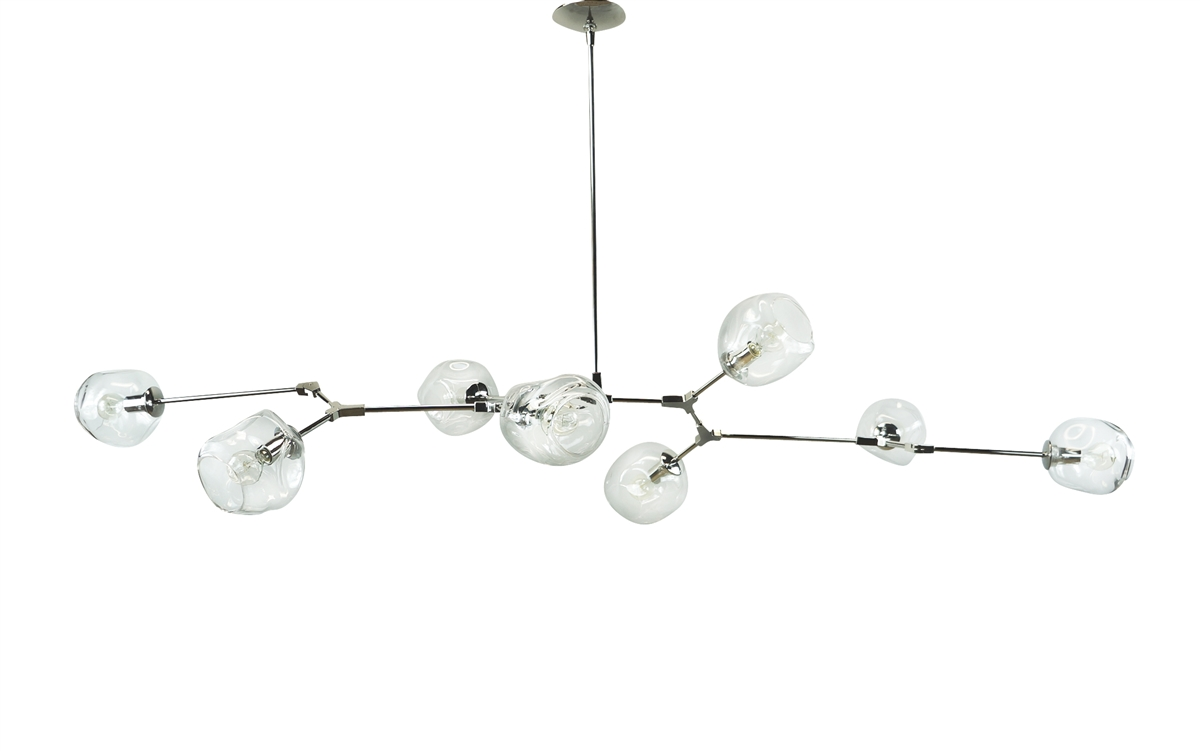 Branching Bubble Modern Chandelier