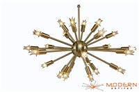 Brushed Brass Sputnik