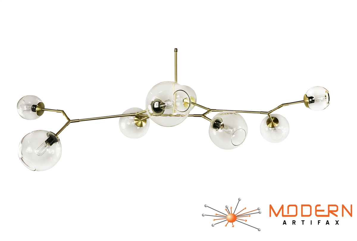 Branching bubble modern chandelier alternative views aloadofball