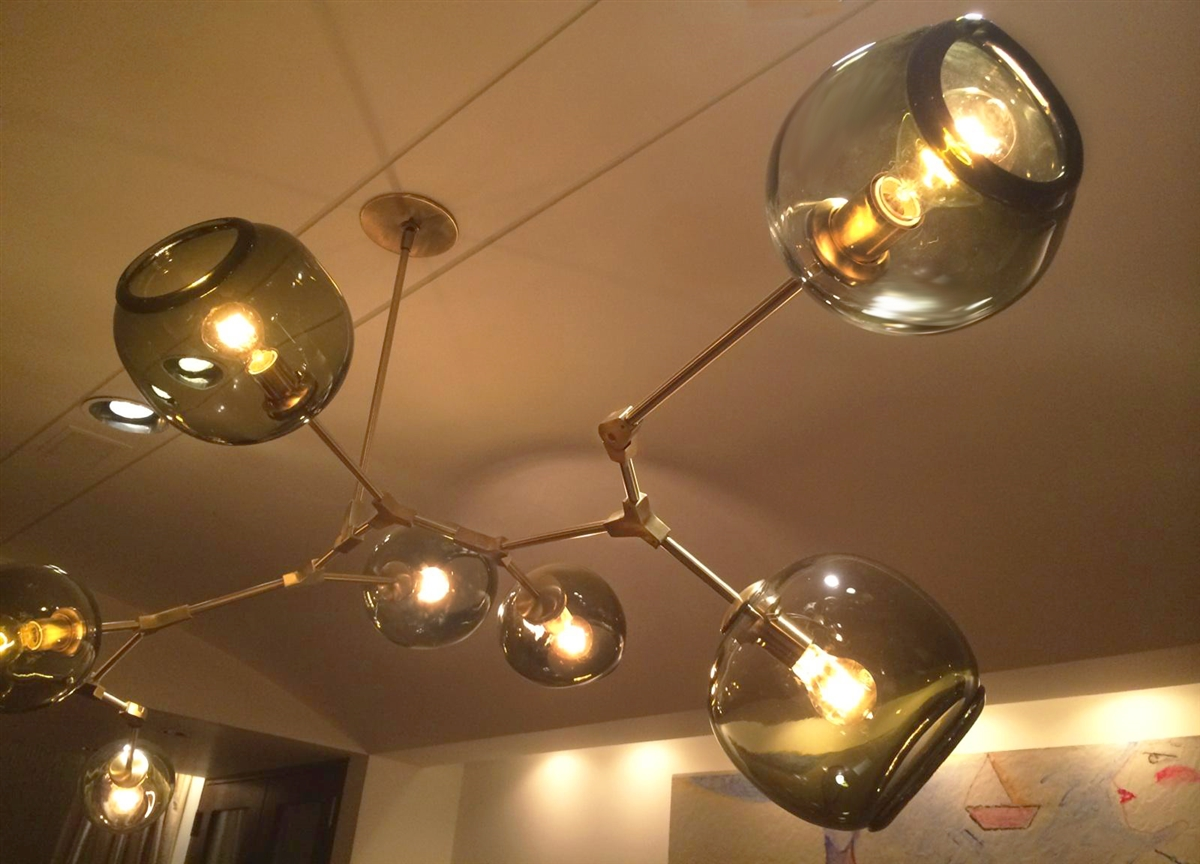 Branching bubble modern chandelier have aloadofball Choice Image