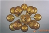 Satin Brass Sputnik Chandelier