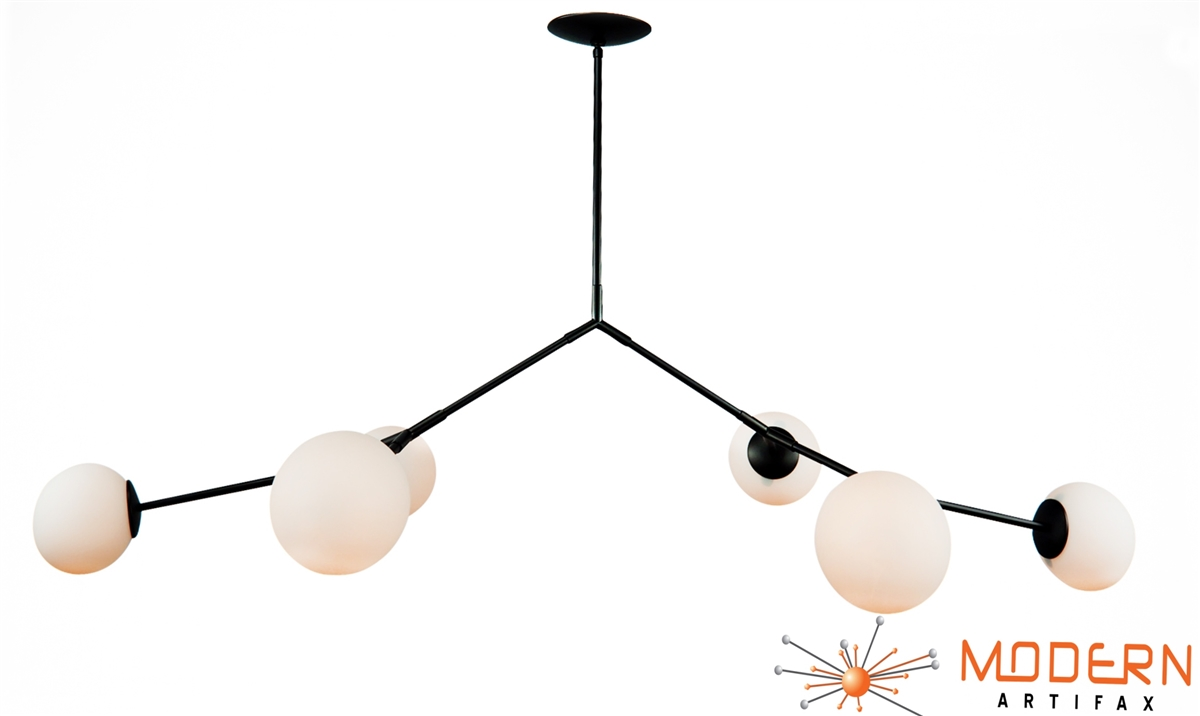 branching bubble fixture oil rubbed bronze finish - Bubble Chandelier