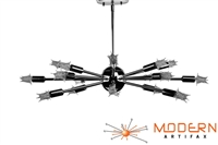 Chrome Sputnik Chandelier