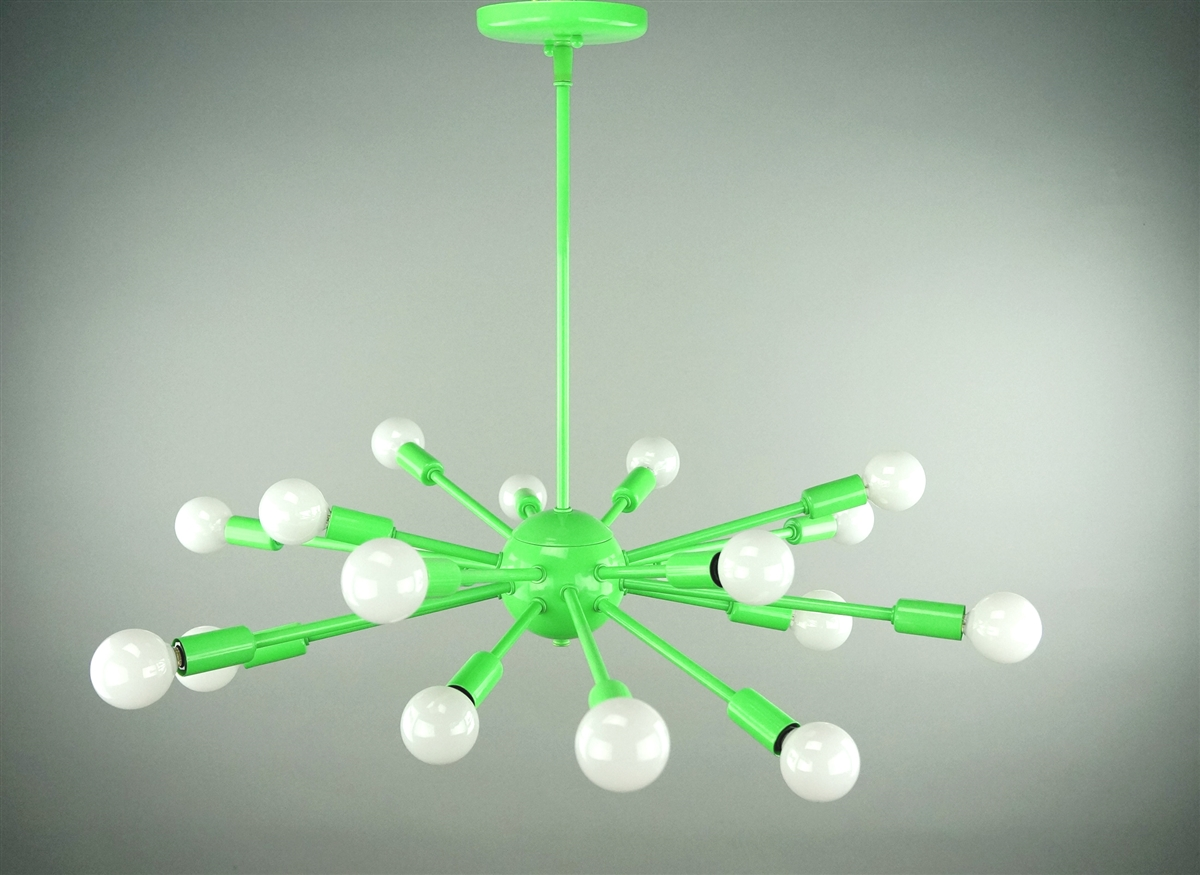 24 inches in diameter with 18 arms lamp has a flat shape our arubaitofo Images