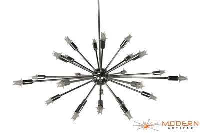 Chrome Sputnik Light Fixture