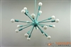 Custom Sea Foam Green Sputnik Chandelier Mid Round Shape