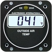 Electronics International A-1 OAT Aircraft Gauge