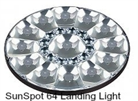 AeroLEDs Certified SunSpot64 Landing Lights