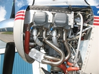 Power Flow Aircraft Exhaust Aviat Husky
