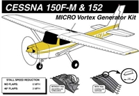 Cessna 150F-M and 152 vortex generators