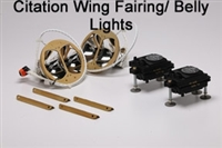 Citation Wing Tip Mounted Two LoPresti Aircraft Lights