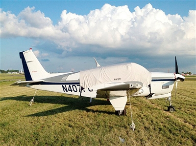 Beech Bonanza 36 Aircraft Protection Covers, Reflectors and Plugs