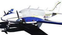 Beech Baron D55 & E55 Aircraft Protection Covers, Reflectors and Plugs