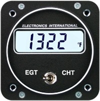 Electronics International EC-1 single channel EGT/ CHT