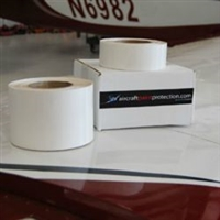 "Clear Coated 8 mil Leading Edge Tape 4"" wide Sold by the foot"