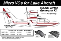 Lake Aircraft Micro Vortex Generators