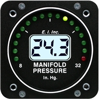 Electronics International M-1 Manifold Pressure Gauge