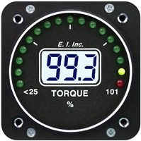 Electronics International M-1T Pressure or Torque Turboprop Gauge